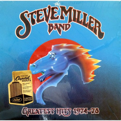 The Steve Miller Band - Greatest Hits 1974-78, LP, Reissue, Remastered