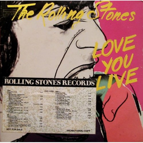 The Rolling Stones - Love You Live, 2xLP