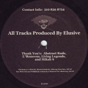Elusive - Deceiving The Right Eye... Volume 2, LP