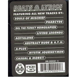 Various - Beats & Lyrics (Industry Hip Hop Compilation: Issue One), 2xLP, Comp
