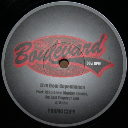 "Boulevard Connection, The - Live From Copenhagen, 12"", Promo"