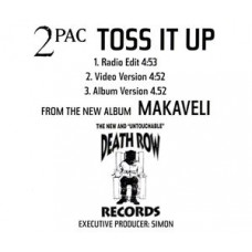 2Pac - Toss It Up, CD, Promo