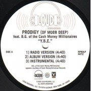 "Prodigy - Y.B.E. (Young Black Entrepreneurs), 12"", Promo"