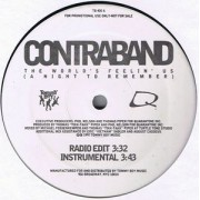 "Contraband - The World's Feelin' Us (A Night To Remember), 12"", Promo"