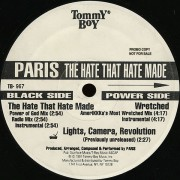 "Paris - The Hate That Hate Made, 12"", Promo"