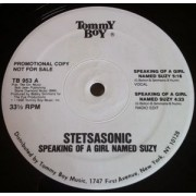 "Stetsasonic - Speaking Of A Girl Named Suzy / Anytime, Anyplace, 12"", 33 ⅓ RPM, Promo"